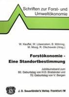 Band 033: Forsțkonomie РEine Standortbestimmung